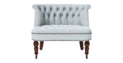 Helene loveseat porcelain blue