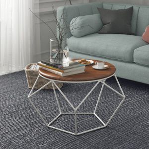 Pentagon modern table living room